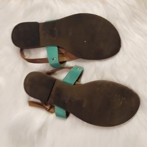 Cityclassified Shoes - Turquoise Sandals